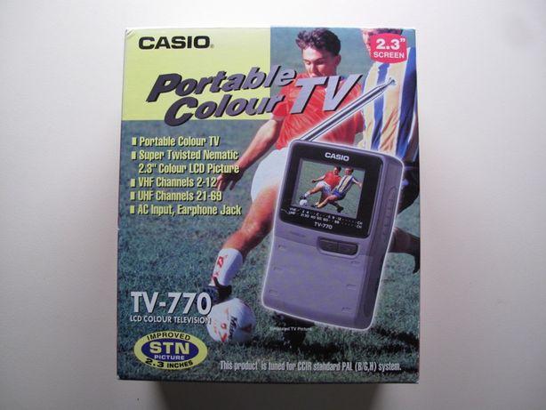 Televisão Portátil LCD Casio TV-770