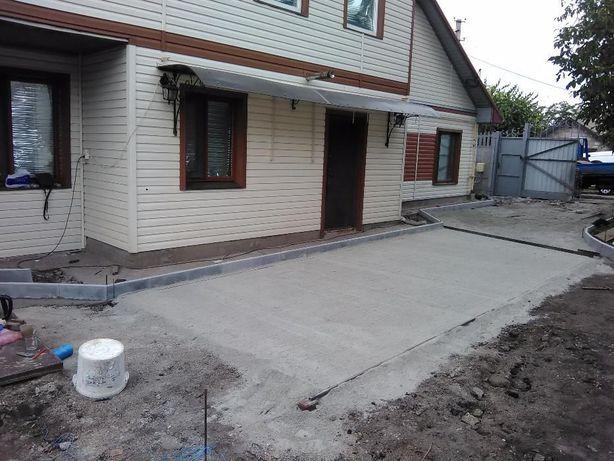 Тротуарная плитка с укладкой