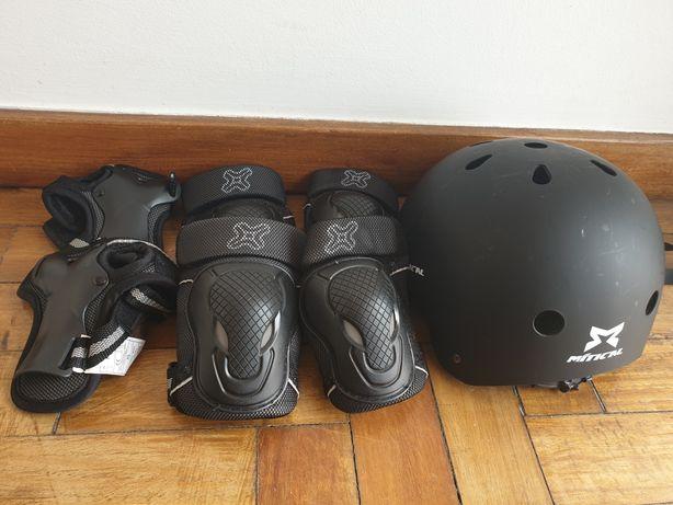 Conjunto de segurança de patins