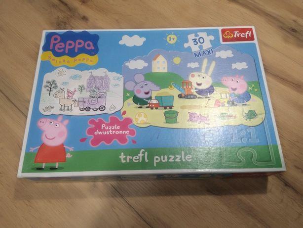 Puzzle dla Dzieci Pszczółka Maja oraz Świnka Peppa