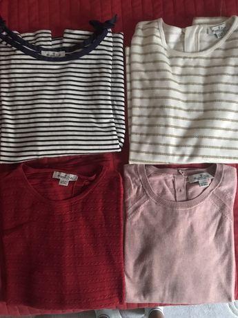 4 camisolas para menina da Massimo Dutti