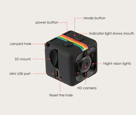 Micro câmara espião full hd 12mp