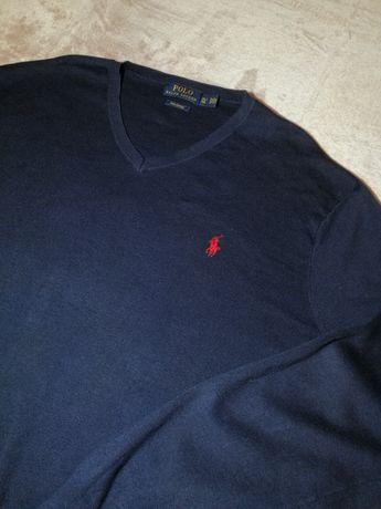 Ralph Lauren sweter gładki L XL
