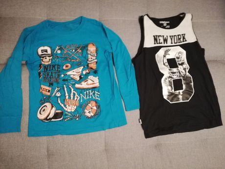 Koszulka nike + gratis koszulka na ramiączkach rozmiar 146