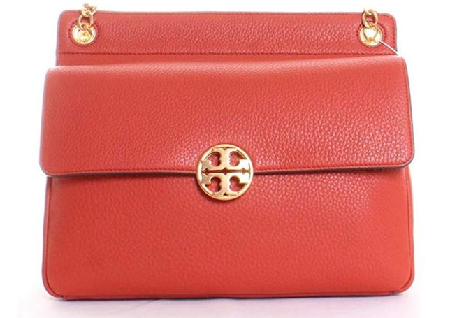 новая сумка Tory Burch Chelsea Flap Shoulder Bag Pale Redstone