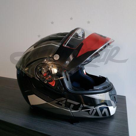 Шлем модуляр MT Atom SV Quark Black White
