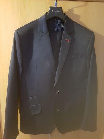 Marynarka+spodnie- Lansier - 50/176/90- Garnitur męski
