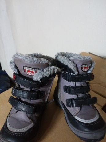 Buty zimowe dla chłopca firmy Lasocki
