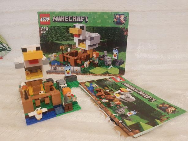 Lego Minecraft 21140 jak nowe