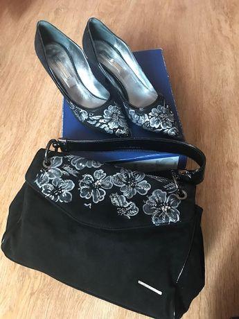 Комплект: туфли и сумка