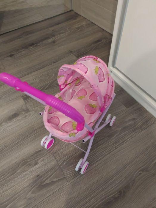 Sprzedam nowy wózek dla lalek w kolorze różowym. Ostrów Mazowiecka - image 1