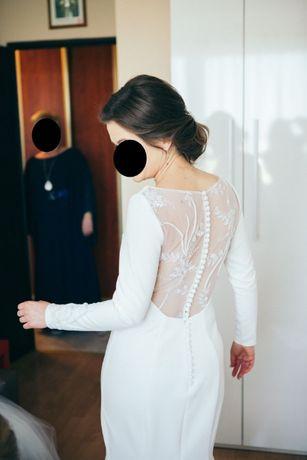 Suknia ślubna inspirowana modelem Justin Aleksander