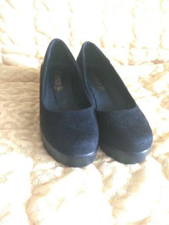 Туфли, толстый каблук