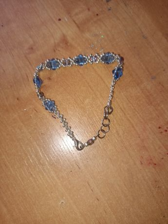 Bransoletka z kryształkami numerek 17