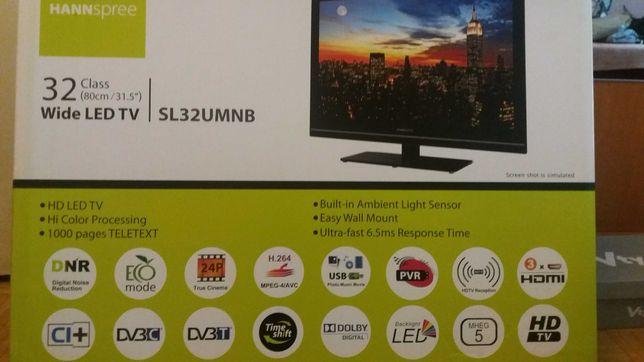 Telewizor LED 32 cale. Hannspree