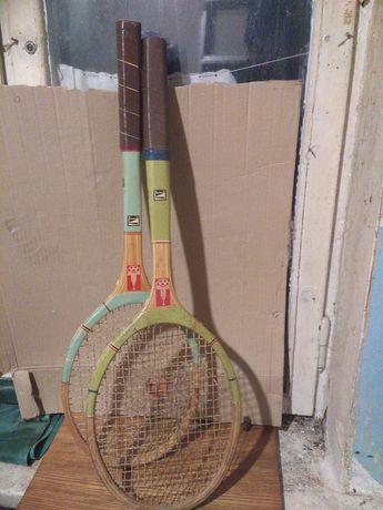Ракетки для большого тенниса с олимпийской символикой