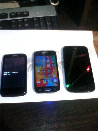 3 смартфона под ремонт обмен на 1рабочий смарт