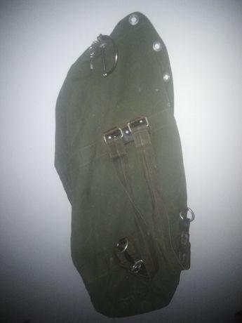 Stary worek wojskowy +dodatki