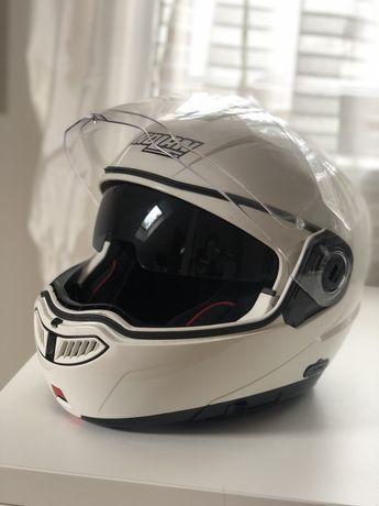 Kask motocyklowy szczękowy NOLAN