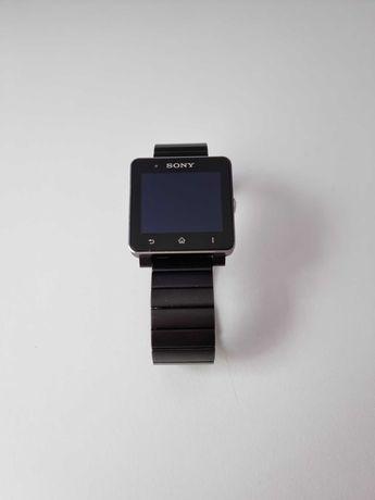 Smartwatch Sony SW2 czarny na bransolecie