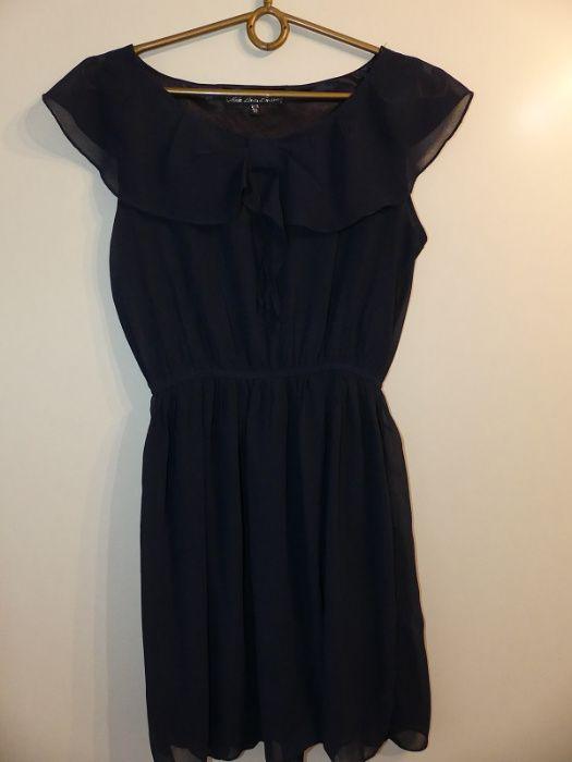 szyfonowa sukienka granatowa m 38 Czudec - image 1