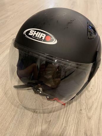 Capacete mota Shiro