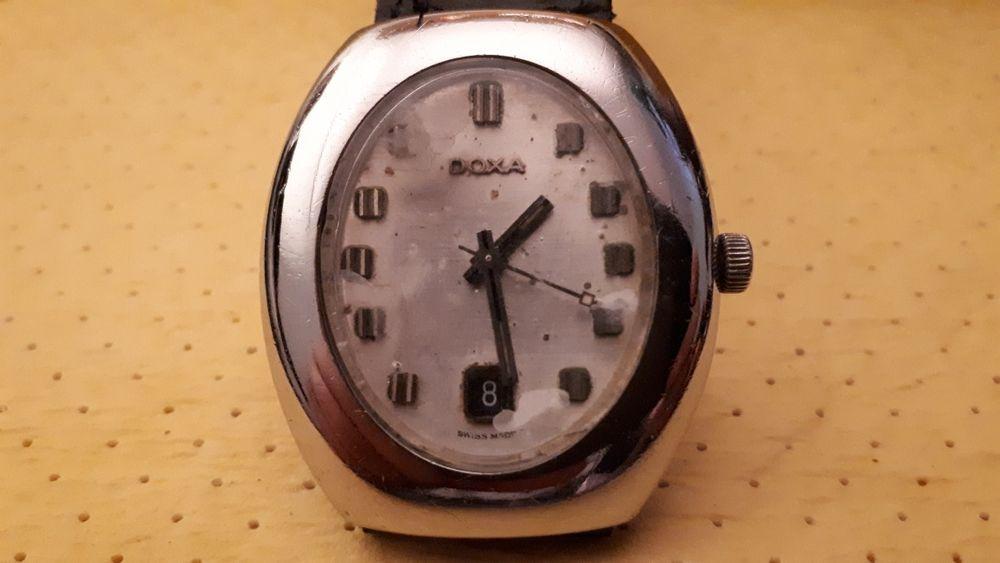 Stary zegarek DOXA synchro 56 automatic Galeria Sztuki A. Sz Bytom - image 1