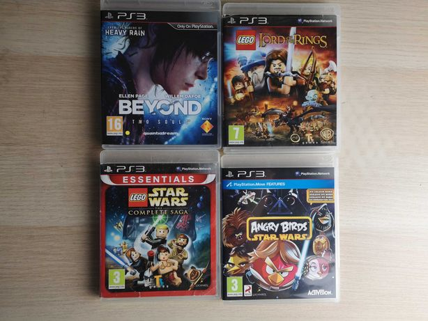 PS3 - Lego Star Wars, Beyond Two Souls, Angry Birds SW, Lord of the R.
