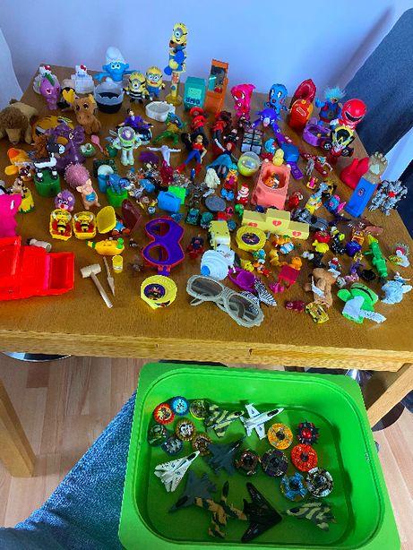 Zabawki, maskotki, figurki z Mc'Donalds i Burger King