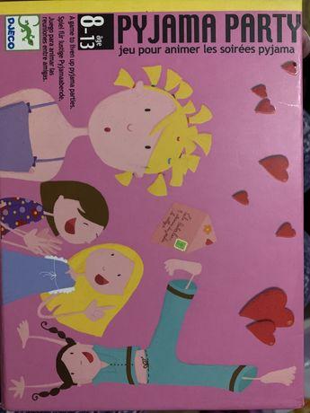 Карточная игра с заданиями «Пижамная вечеринка» 8-13 лет.