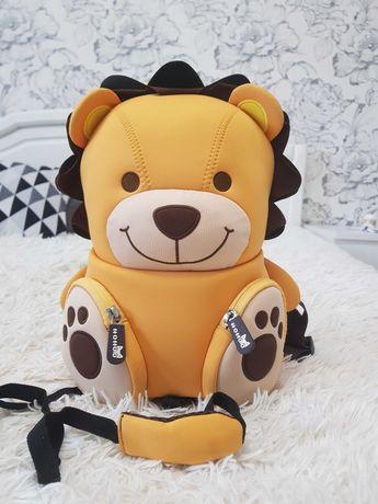 Nohoo детский рюкзак Лев