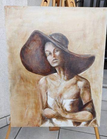 Obraz ręcznie malowany 40x50