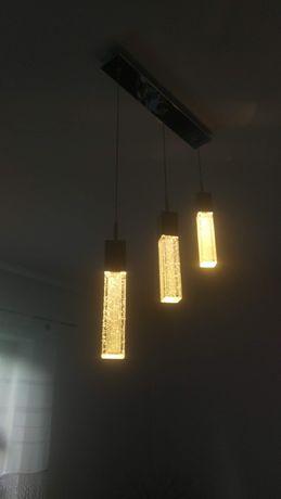 Lampy wiszące z serii VIVID CHROM: 3P-1szt, 1P-5szt. Italux