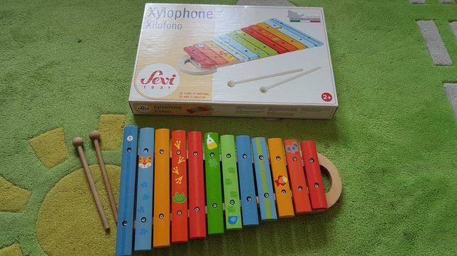 Cymbałki drewniane Sevi 2+ Liczydło Ikea Zegar puzzle drewniane