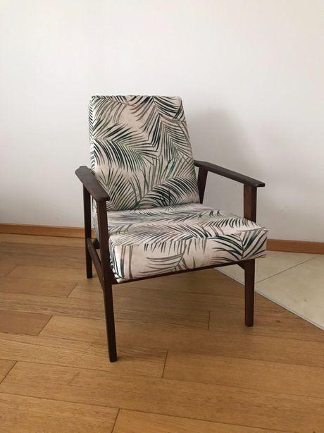 Fotel śnieżnik PRL - odnowiony