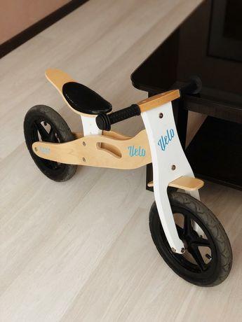 Велобіг дерев'яний 3-6років.