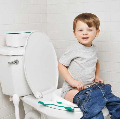 Детский дорожный горшок – туалет Накладка на унитаз OXO