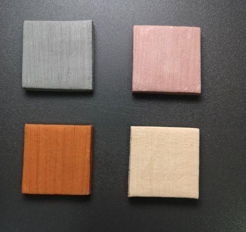 płytka ceramiczna 4x4cm do mchów, fissidensów różne kolory