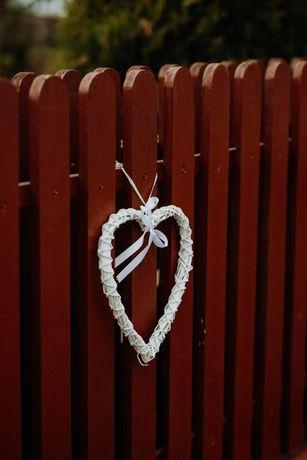 Serduszka serca dekoracja domu wesele