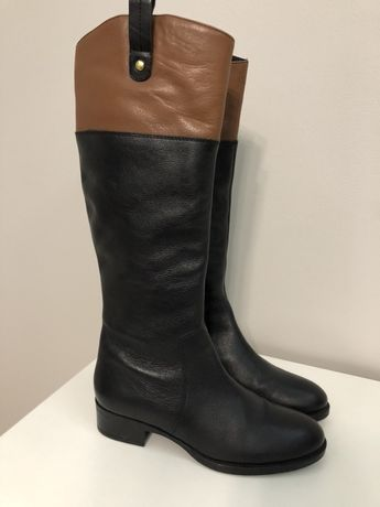 Сапоги кожа/Шкіряні чоботи Dune/Сапожки/ботинки