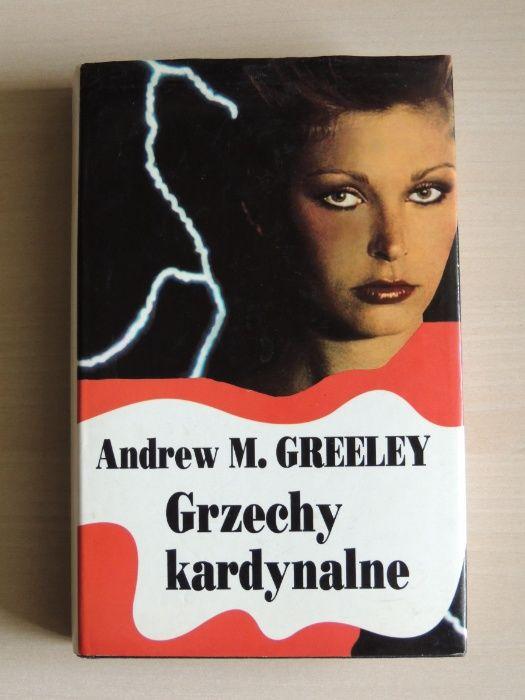 Grzechy kardynalne (romans) - Andrew M. Greeley – zestaw książek Kraków - image 1