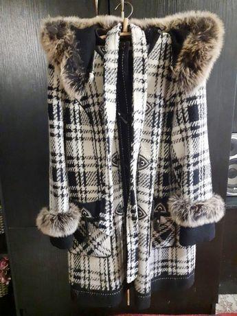 Шерстяное пальто 52р.