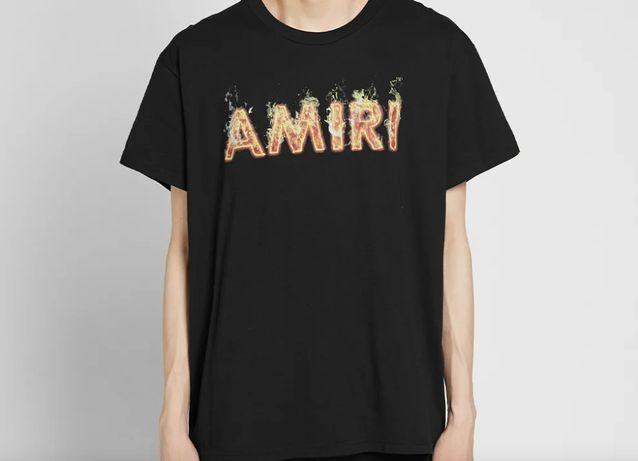 T-shirt Amiri Flames