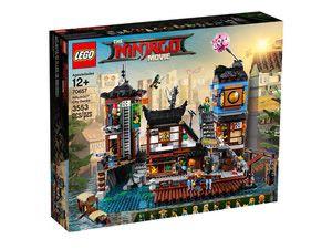 LEGO 70657 Ninjago Movie - Doki w mieście NINJAGO nowy