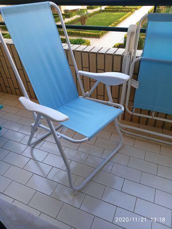 Cadeiras / Espreguiçadeiras + 1 de praia j