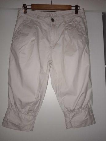 Beżowe spodnie miracle of denim M.O.D 38