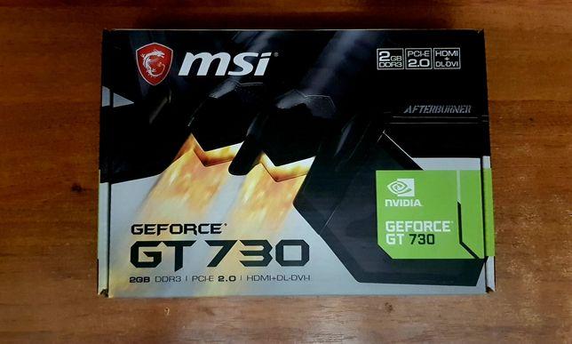 Видеокарта MSI GeForce GT 730 2GB