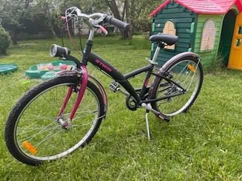 """Rower dla dziewczynki 24"""" B'TWIN Poply 500"""