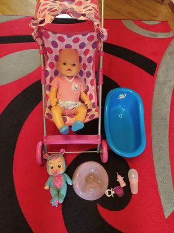 Baby Born пупс кукла + Коляска,горшок,ванна,соска и подарок!