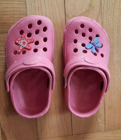 Sandałki typu crocks rozmiar 23